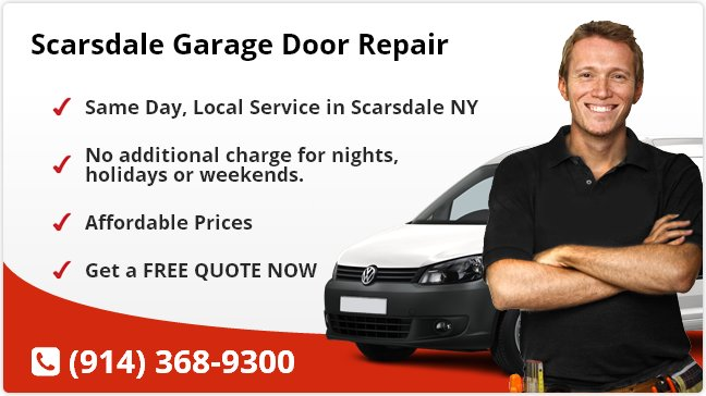Scarsdale Garage Door Repair